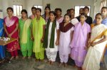 Girls in tailoring program