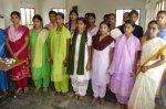 Girls in tailoring program