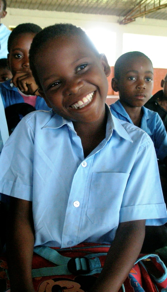 Angelo - Mercy 29 African Child happy to be in school