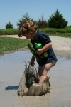 boys like playing in mud