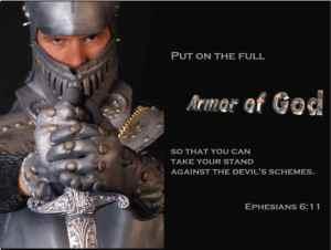armor of God - wear it daily