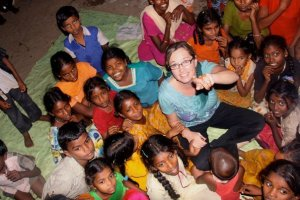 Loving on the Children of India