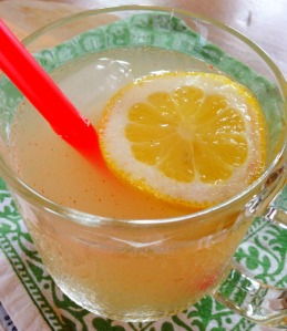 detox with lemon juice