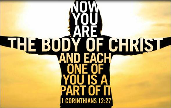 We are the church...be the church, not a building but an example