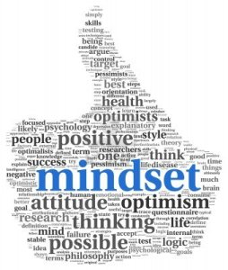 How do you have a positive mindset