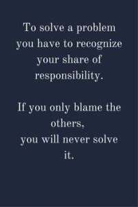 Blaming others is a sign of poverty and a sign of fixed mindset melissa phillips